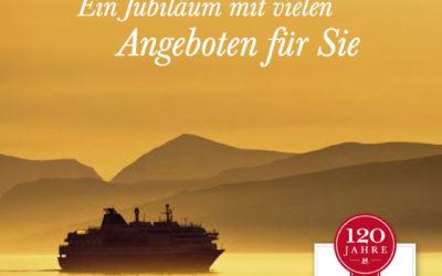 Hurtigruten Jubiläumsangebote 2013