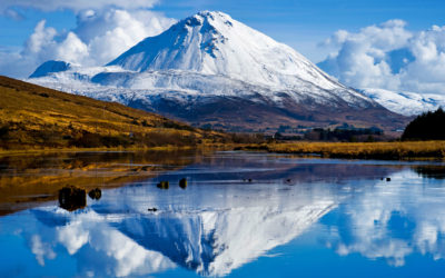 Mount Errigal, Irland