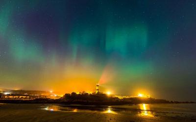 Nordlichter über Irland