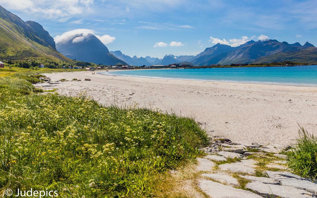 Strand von Ramberg, Norwegen