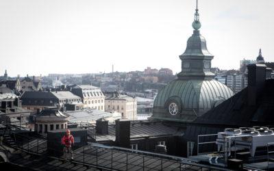 Rooftop Hiking, Stockholm