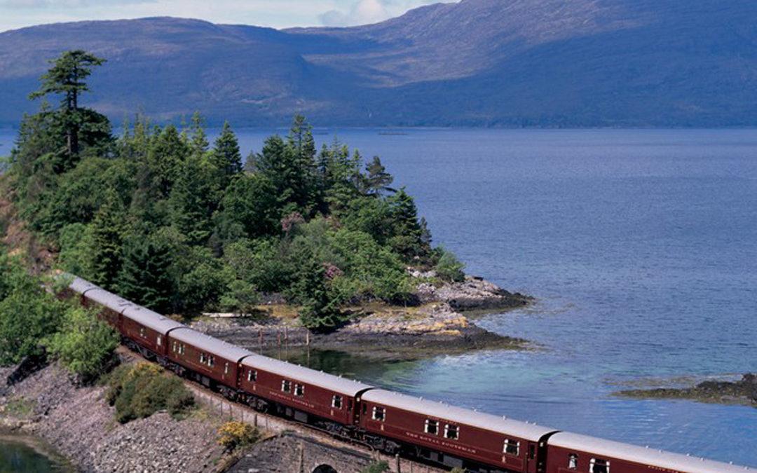 Mit dem Zug durch die Highlands