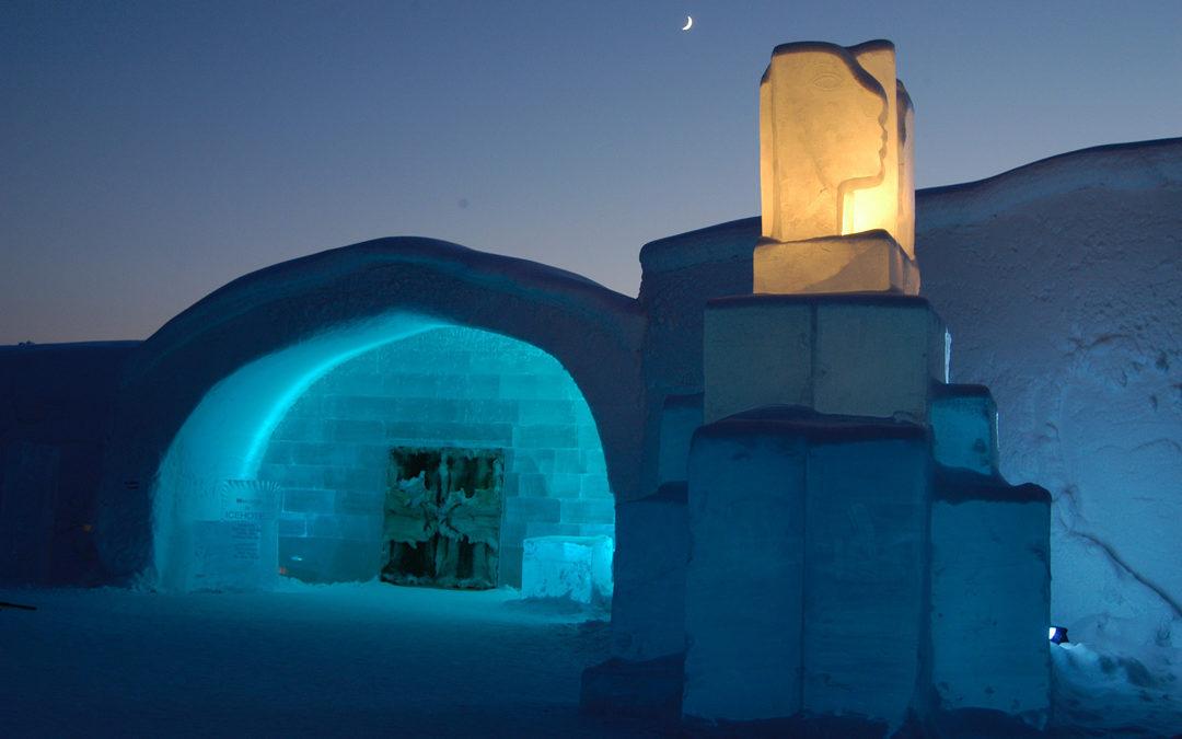 Das Eis-Hotel: Gefrorener Luxus