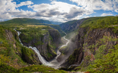 Vøringsfossen Wasserfall, Norwegen