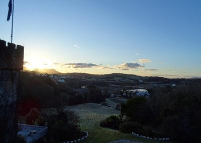 Sonnenaufgang am Abbeyglen Castle