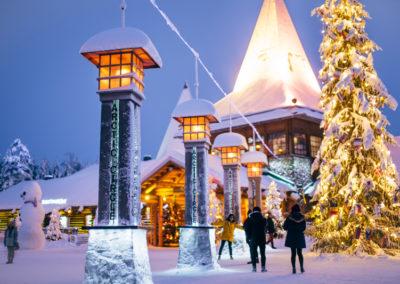 Polarkreis in Rovaniemi
