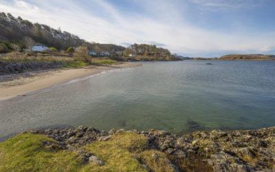 Marion, Annemarie, Christian und Lennards Schottlandreise