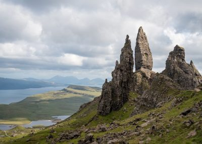 Felsformation Old Man of Storr auf der Isle of Skye