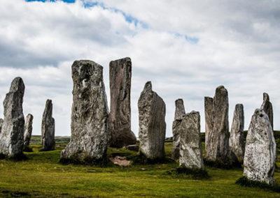 Steinkreis Standing Stones of Callanish auf der Isle of Lewis