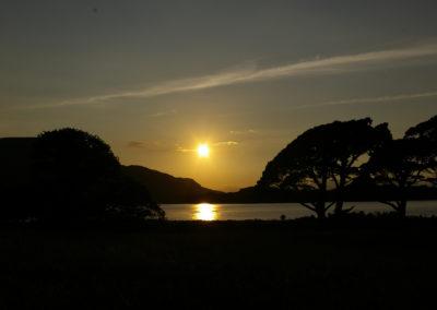 Sonnernuntergang an Irlands Küste