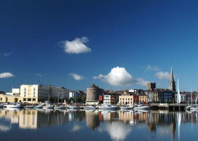 Blick auf Waterford