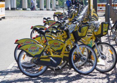 Fahrräder in Helsinki