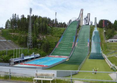 Skisprungschanzen in Lathi