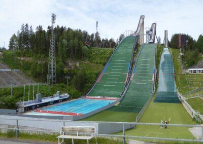 Skisprungschanzen in Lahti