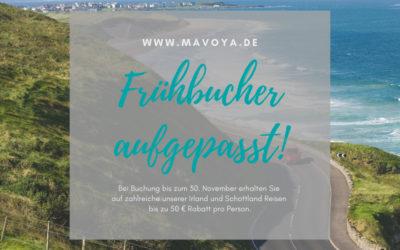 Frühbucherrabatt 2019