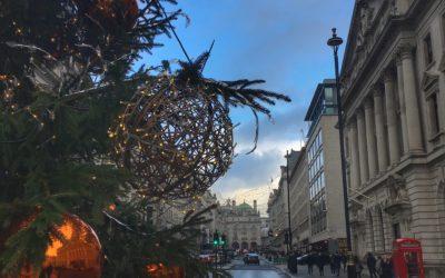 Weihnachtszeit in London