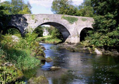 Aghade Brücke über den Fluss Slaney im County Carlow