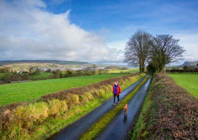 Spaziergang auf dem Beara-Breifne-Way im County Cavan