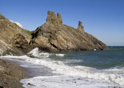 Black Castle im County Wicklow