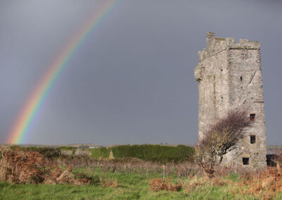 Carrigaholt Castle im County Clare