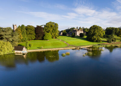 Castle Leslie im County Monaghan