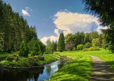 Spazierweg bei Castlerea im County Roscommon