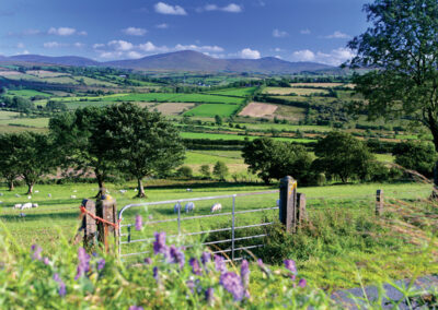 Blick über die Sperrins von Clady im County Derry/Londonderry