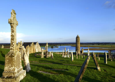 Clonmacnoise im County Offaly