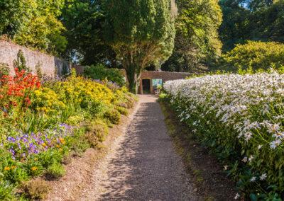 Colclough Walled Garten an der Tintern Abbey im County Wexford