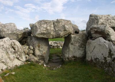 Creevykeel Court Tomb im County Sligo