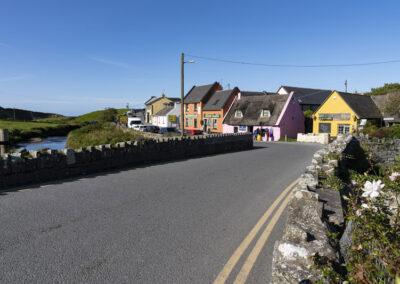 Der kleine Ort Doolin im County Clare