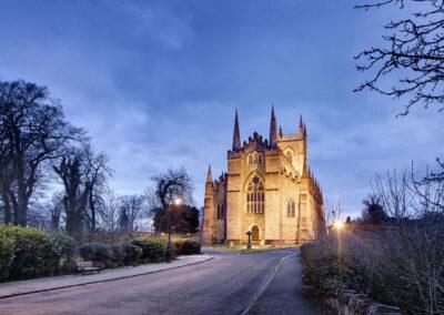 Die Kathedrale von Down, County Down