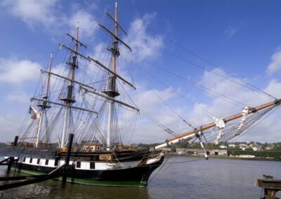 Dunbrody Famine Schiff in New Ross, County Wexford