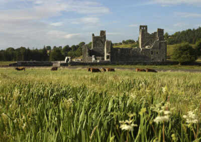 Fore Abbey im County Westmeath