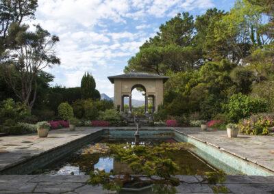 Italian Garden auf Garnish Island, County Cork