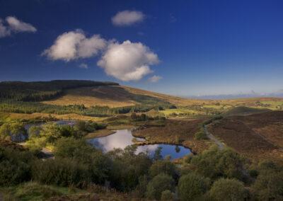 Gortin Lake im County Tyrone