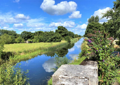 Der Grand Canal bei Rathdagan im County Kildare