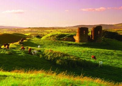 Harry Abery's Castle im County Tyrone