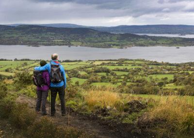 Wanderung auf dem Tountinna im County Tipperary