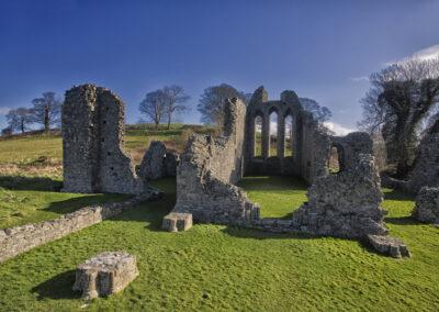 Inch Abbey im County Down