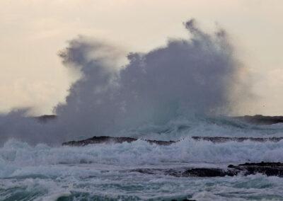 Wellen am Kilkee Cliff, Loop Head / County Clare