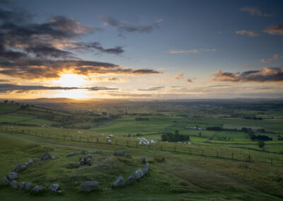Loughcrew Cairns im County Meath