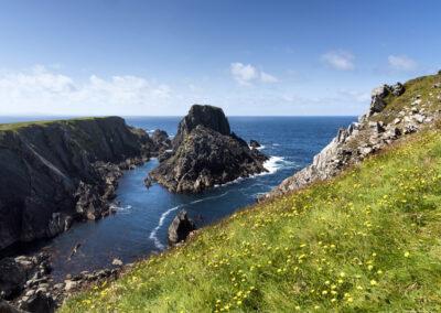 Am Malin Head auf der Halbinsel Inishowen im County Donegal