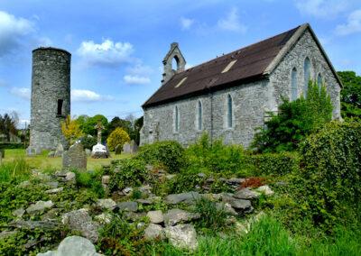 Monastery Saint Daig in Inniskeen, County Armagh