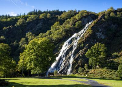 Powerscourt Wasserfall bei Enniskerry im County Wicklow