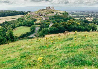 Rock of Dunamase im County Laois