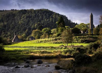 Glendalough im County Wicklow
