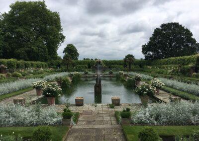 Sunken Garden am Kensington Palace