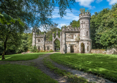 The Gate Lodge des Ballysaggartmore Anwesens bei Lismore im County Waterford