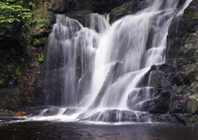 Torc Wasserfall im Killarney Nationalpark, County Kerry